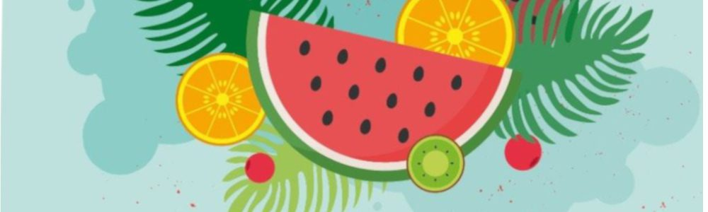 Detalle del cartel del Ecomercado de Córdoba en su edición de junio 2019