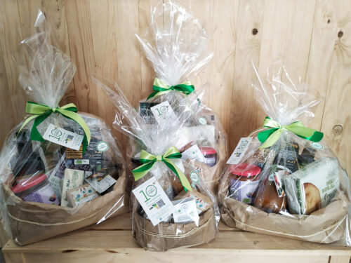 Las diferente modalidades que presentamos de cestas regalo para estos festivos navideños de tu EcoTienda